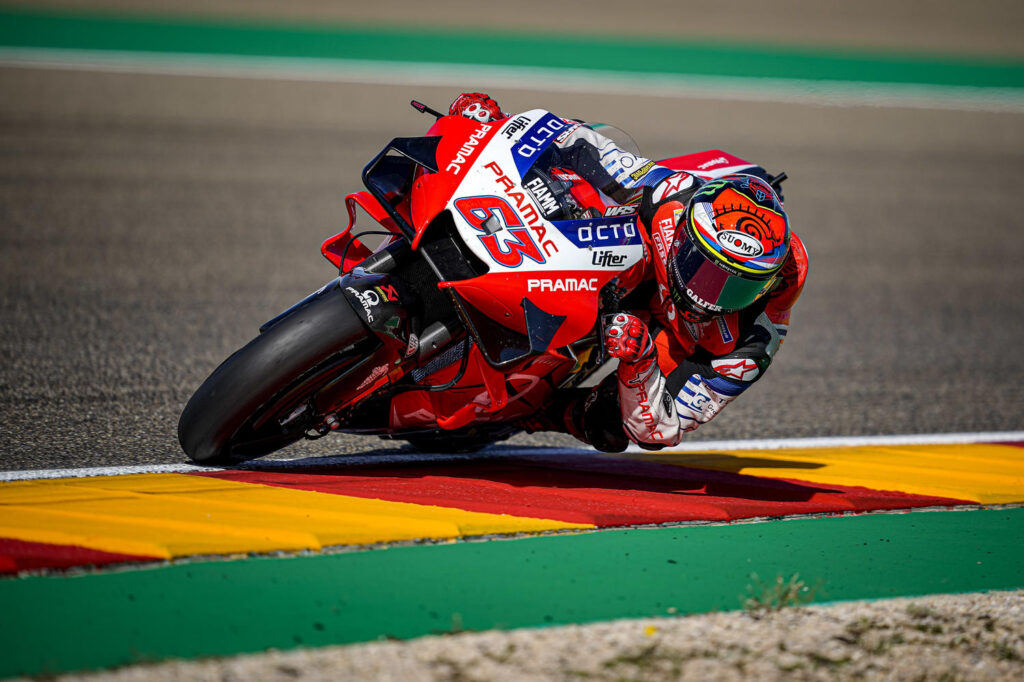 "MotoGP | Gp Aragon Gara: Francesco Bagnaia, ""Avremmo potuto fare un bel recupero"""