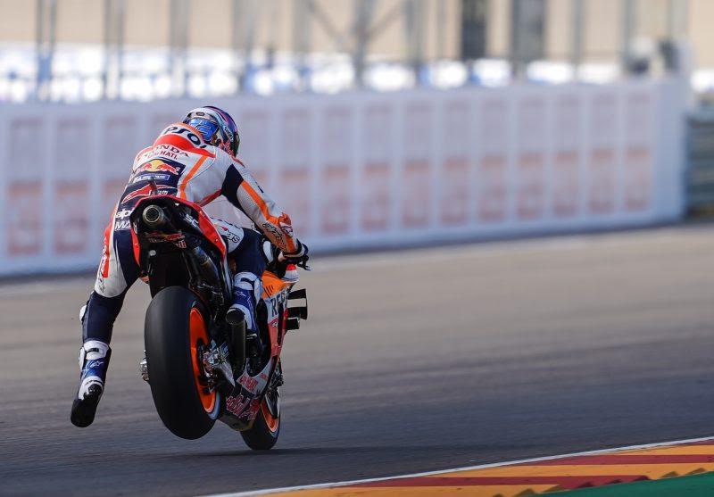 "MotoGP   Gp Aragon 2 Day 1: Alex Marquez, ""siamo partiti bene"""