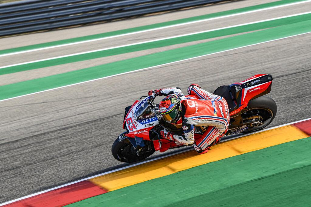 "MotoGP | Gp Aragon 2 Qualifiche: Francesco Bagnaia, ""Oggi mi aspettavo di più sinceramente"""