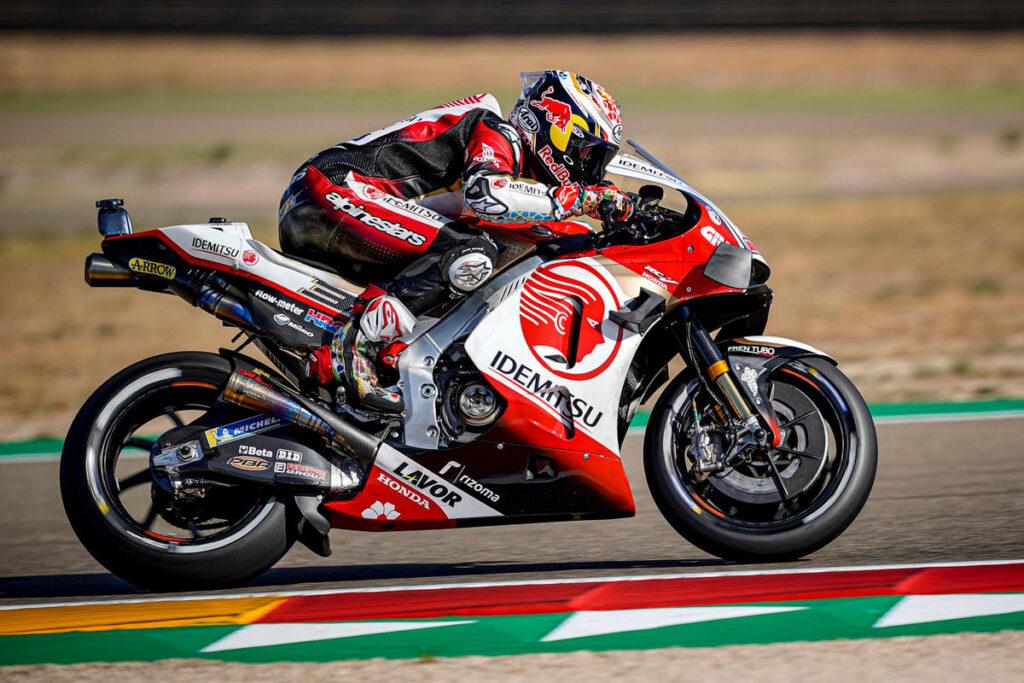 MotoGP | Gp Aragon 2 FP2: Honda al comando con Nakagami, in affanno le Ducati