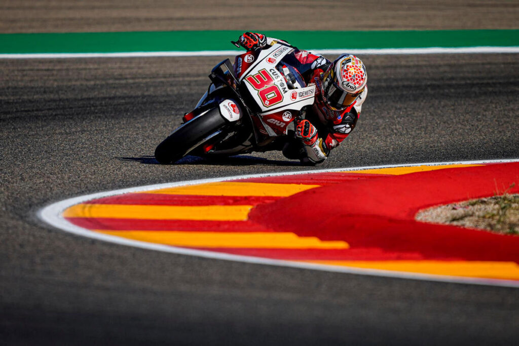MotoGP | Gp Aragon Warm Up: comanda Nakagami, Morbidelli è settimo