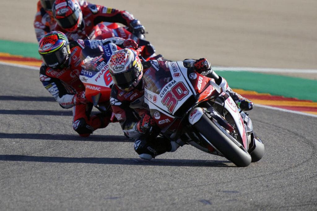 MotoGP | Gp Aragon 2 Warm Up: Nakagami al Top Morbidelli è secondo