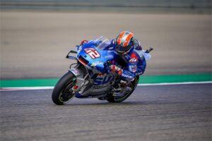 "MotoGP | Gp Aragon 2: Rins, ""Oggi è andata bene"""