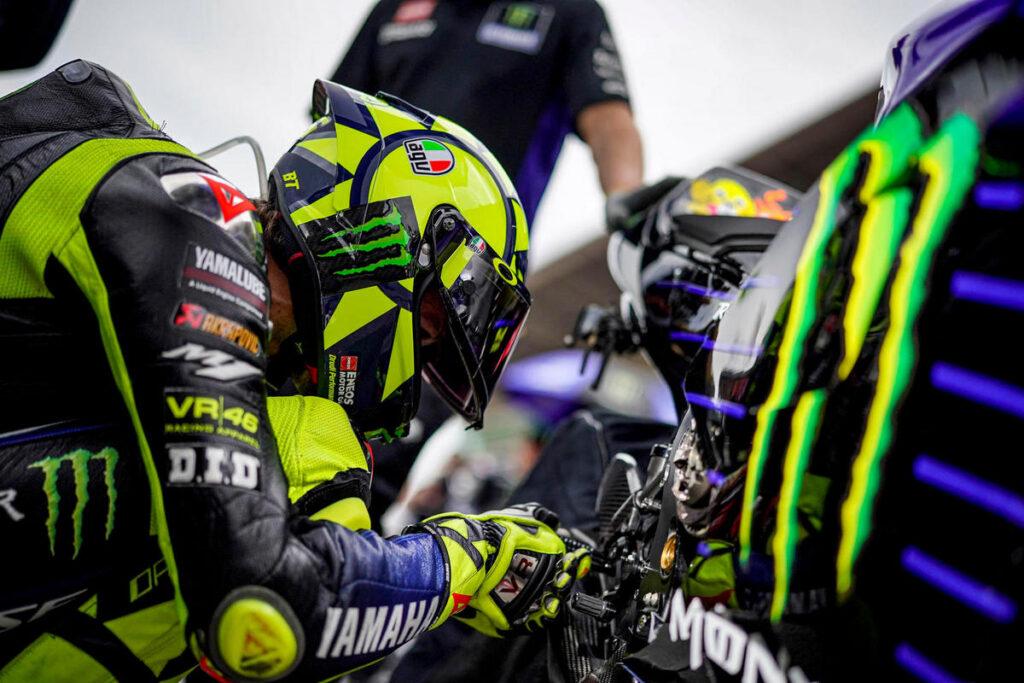 """MotoGP   Gp Le Mans: Valentino Rossi, """"Possiamo lottare per il podio"""""""