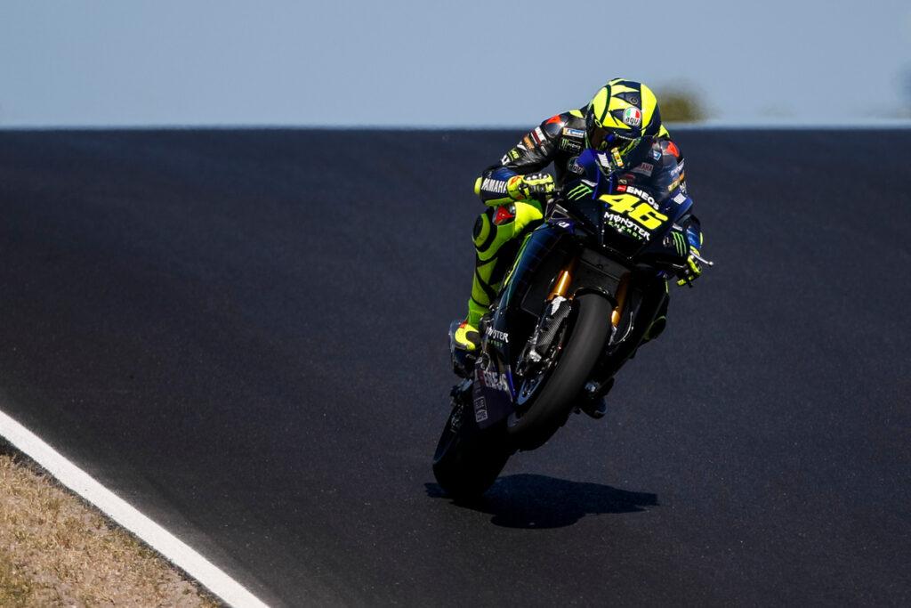 """MotoGP   Test Portimao: Valentino Rossi, """"Pista molto interessante, in alcuni punti si vola"""""""