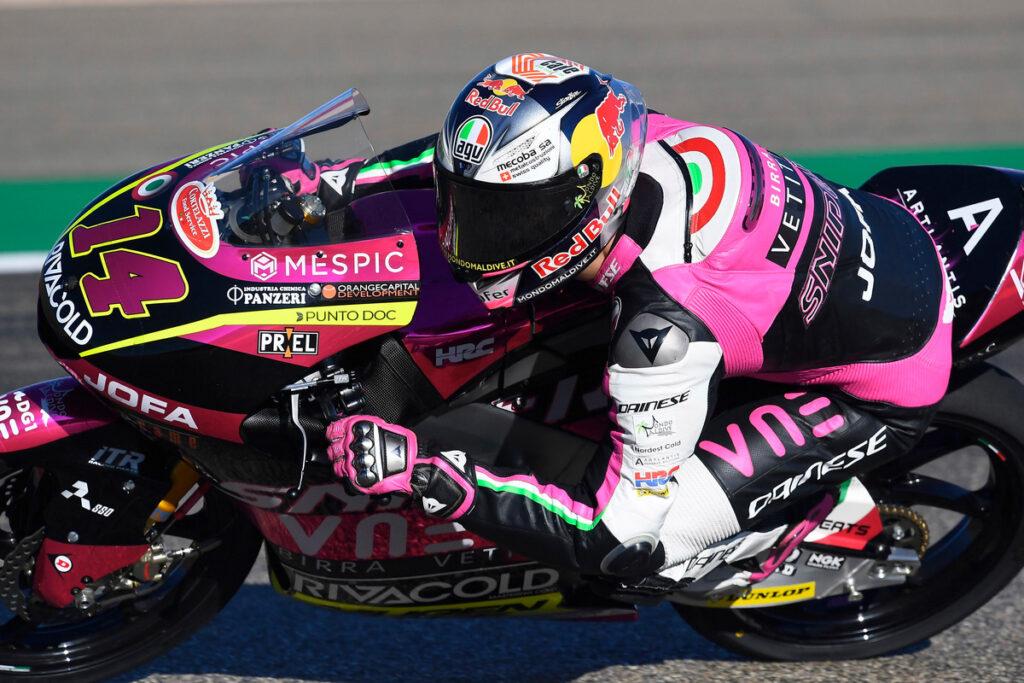 Moto3 | Gp Valencia 2 FP1: Arbolino al comando