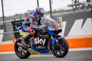 Moto2 | Gp Valencia 2 FP3: Bezzecchi al Top, brutta caduta per Sam Lowes