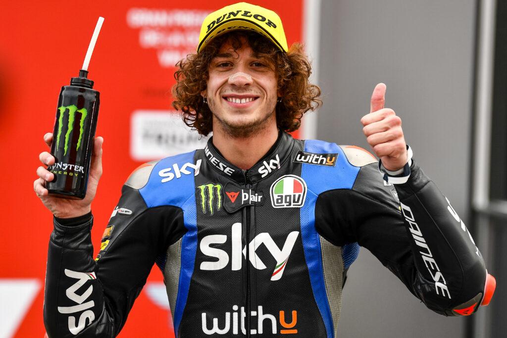 """Moto2   GP Valencia 2 Qualifica, Bezzecchi: """"Sarà una gara molto combattuta"""""""