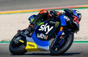 Moto2 | Gp Valencia Warm Up: Bezzecchi al Top, scivola Lowes