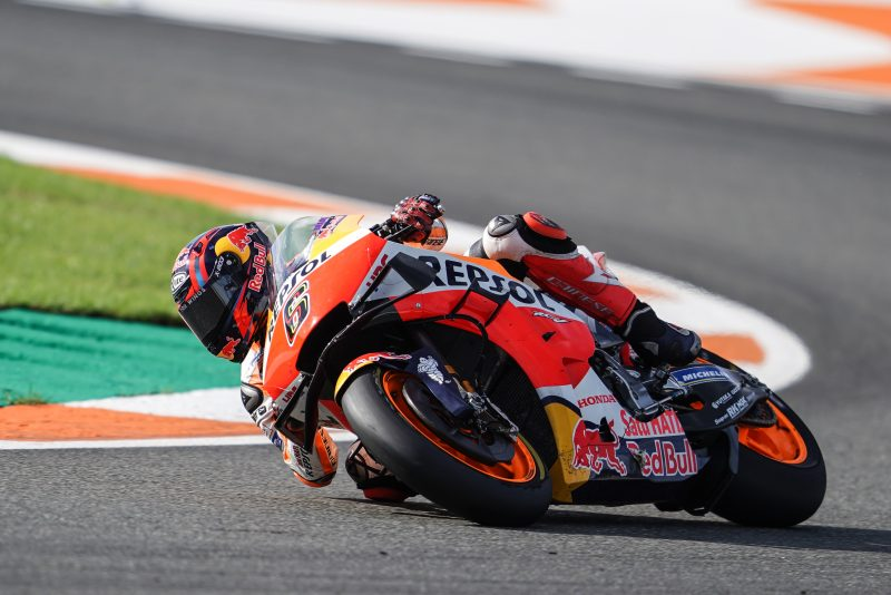 "MotoGP   Gp Valencia Gara: Stefan Bradl, ""Ho sofferto con la gomma anteriore"""