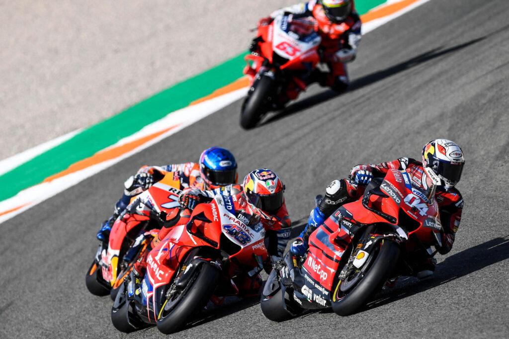 MotoGP | GP Valencia, l'impegno del sistema frenante al Ricardo Tormo