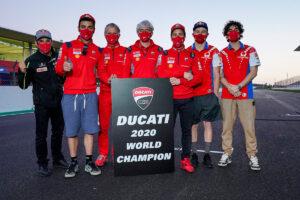 MotoGP | Gp Portimao: Ducati Campione del Mondo Costruttori MotoGP 2020