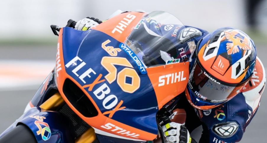 Moto2 | Gp Valencia 2 Warm Up: Garzo precede Bezzecchi, sofferenza per Lowes