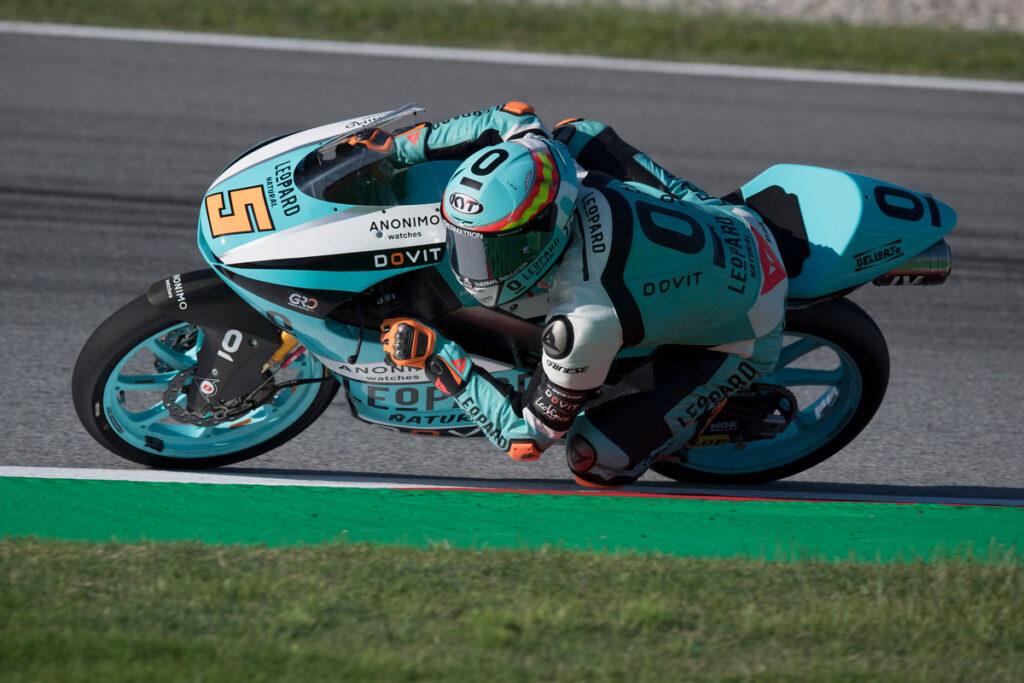 Moto3 | Gp Portimao Warm Up: Masia davanti ad Arbolino e Foggia