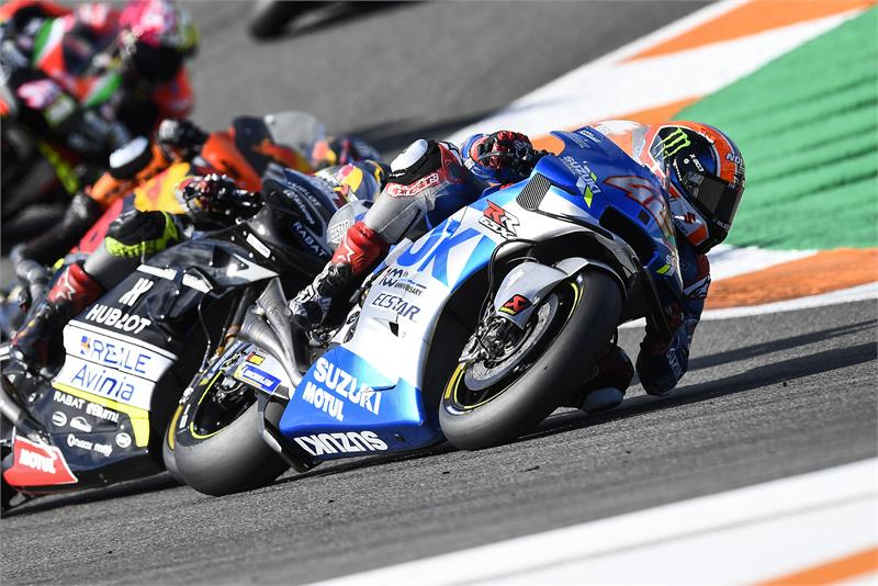 "MotoGP | Gp Valencia 2 Gara: Alex Rins, ""Felice per la squadra"""
