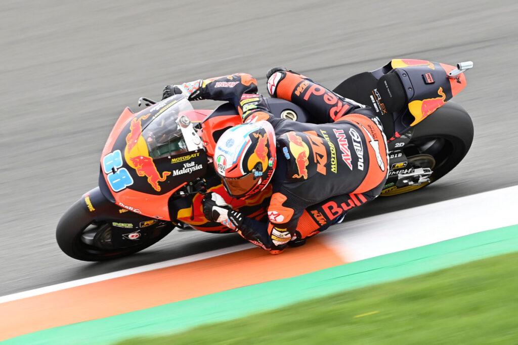 Moto2 | Gp Valencia 2 Gara: Martin vince in volata, Bezzecchi terzo