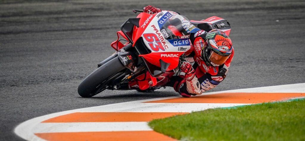 """MotoGP   Gp Valencia Gara: Francesco Bagnaia, """"Ho commesso un errore io e l'ho pagato"""""""
