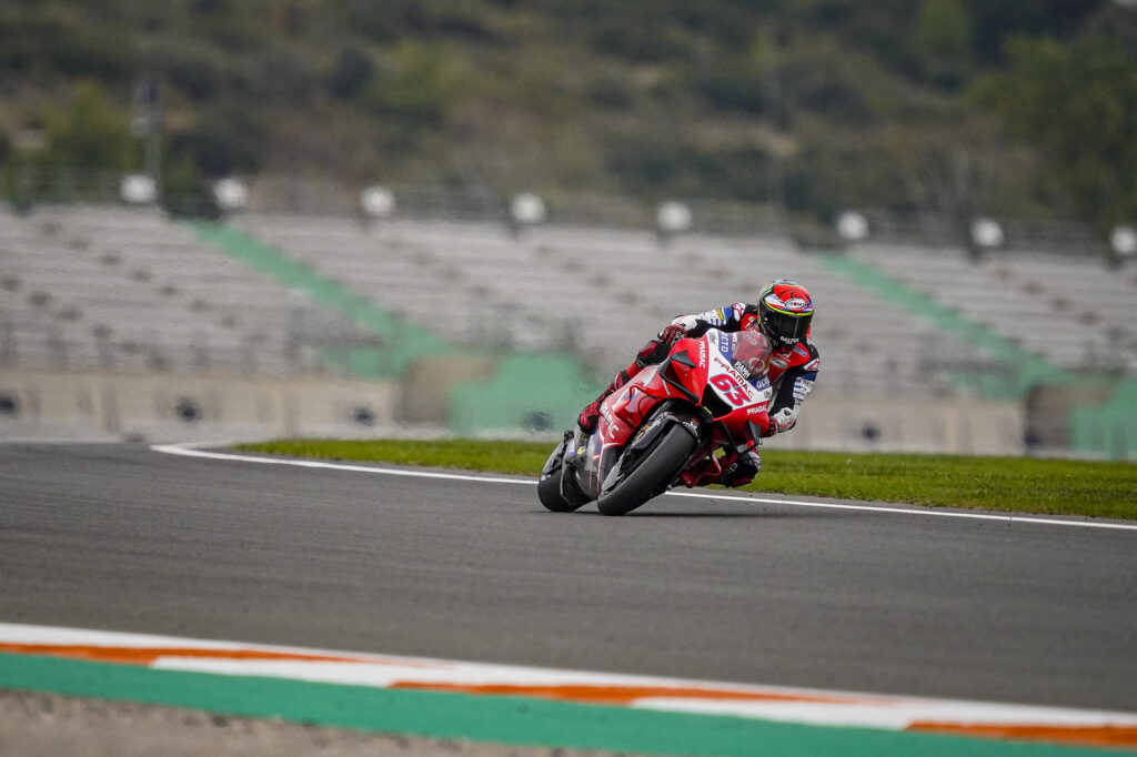 "MotoGP | Gp Valencia 2 Gara: Francesco Bagnaia, ""E' stata una gara dura"""