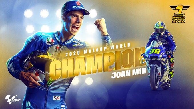 """MotoGP   Gp Valencia 2 Gara: Joan Mir, """"Tutti i sacrifici fatti oggi sono stati ripagati"""""""