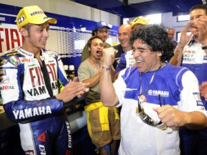 "MotoGP | Valentino Rossi ricorda Maradona: ""Ciao Diego, mago de la pelota"" [VIDEO]"