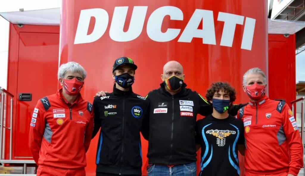 MotoGP | Ufficiale, Enea Bastianini e Luca Marini in Ducati Avintia nel 2021