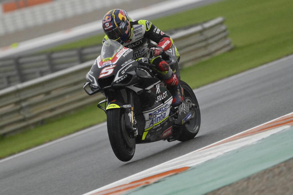 MotoGP | Gp Valencia FP3: Zarco il migliore, il rientrante Rossi è ottavo