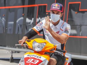 MotoGP | Marc Marquez dimesso dall'ospedale