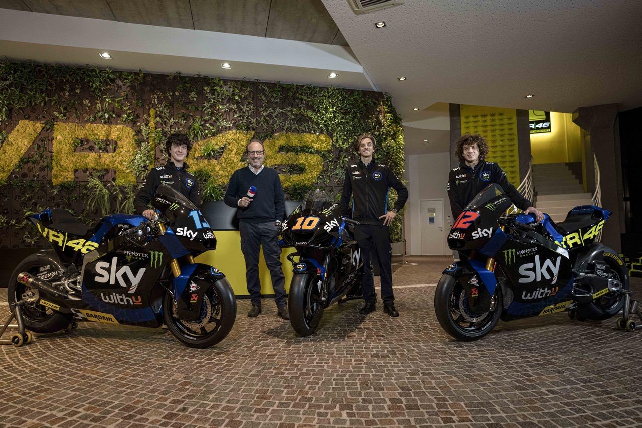 Livrea Sky Racing Team VR46 Ducati MotoGP e Moto2