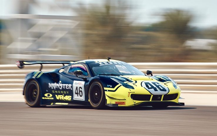 Valentino Rossi, 12 Ore del Golfo: ottavo nelle qualifiche