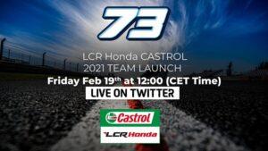 MotoGP   Segui in diretta streaming la presentazione del Team LCR Honda Castrol di Alex Marquez [VIDEO]