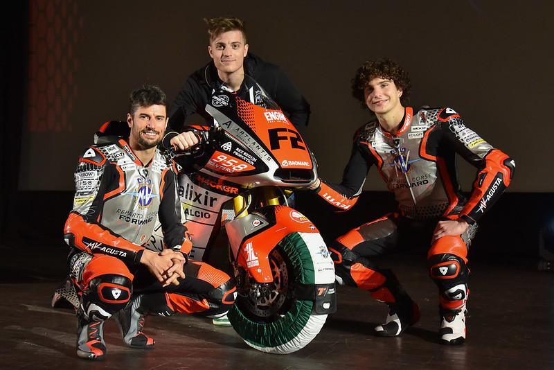 Moto2 | Presentato il team MV Agusta Forward