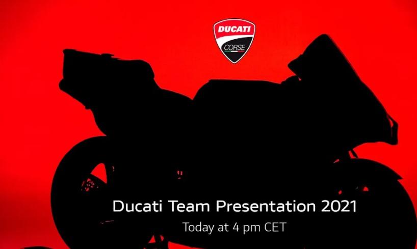 MotoGP | Live streaming della nuova Ducati Desmosedici [VIDEO]