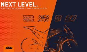 MotoGP | Segui in streaming la presentazione della KTM di Binder, Oliveira, Petrucci e Lecuona