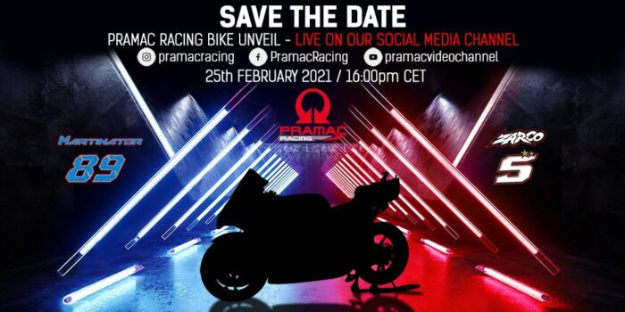 MotoGP | Segui in diretta streaming la presentazione del Team Pramac Ducati [VIDEO]