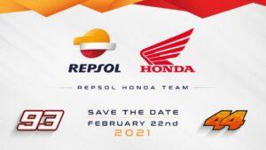 MotoGP | Segui in diretta streaming la presentazione del Repsol Honda Team [VIDEO]