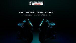 MotoGP   Segui in streaming la presentazione Yamaha Petronas di Rossi e Morbidelli [VIDEO]
