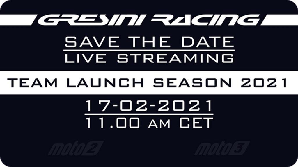 Gresini Racing: la presentazione del Team in diretta streaming [FOTO e VIDEO]