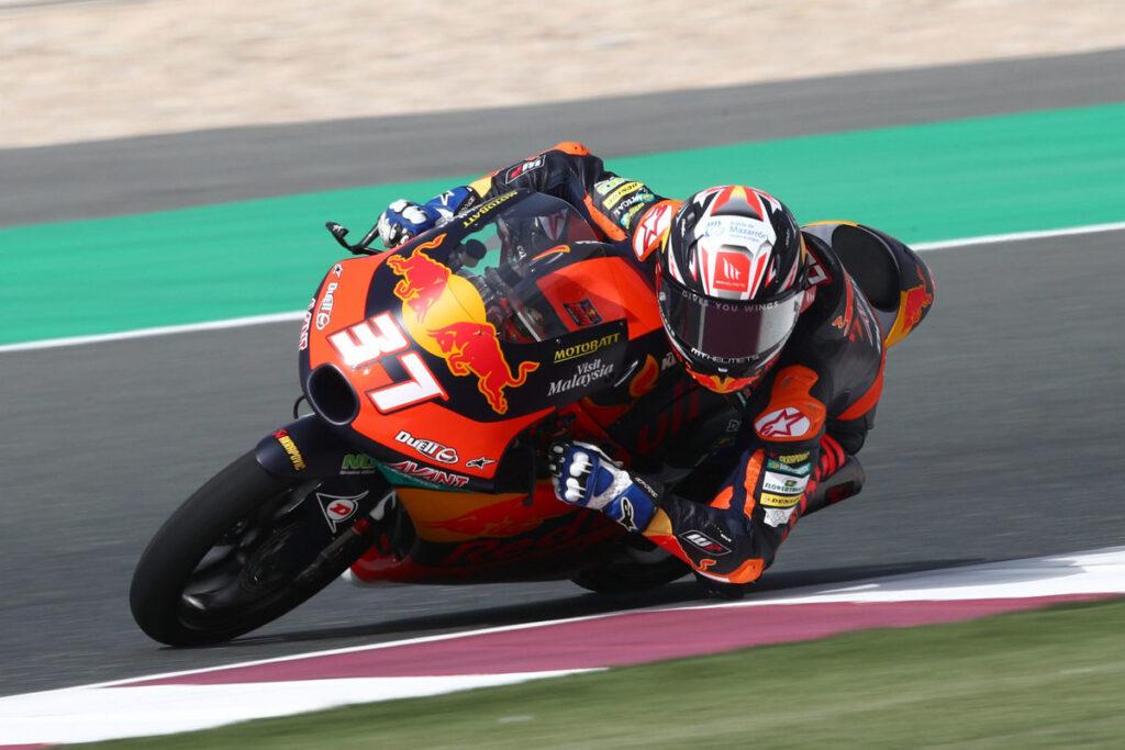 Moto3   Gp Qatar FP1: Acosta il più veloce, Migno è sesto