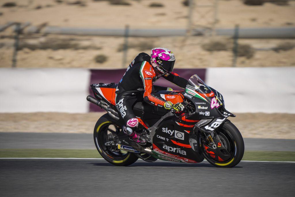 "MotoGP   GP Qatar Qualifiche: Aleix Espargarò, ""Il feeling è ok"""