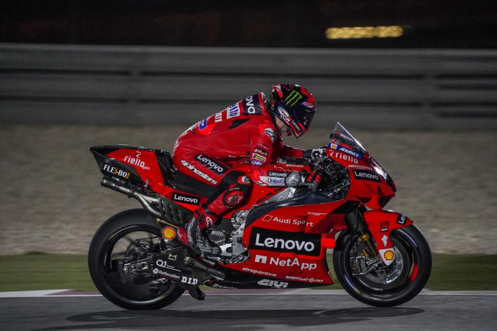 "MotoGP | Test Qatar Day 1: Bagnaia, ""Peccato per la caduta"" [VIDEO]"