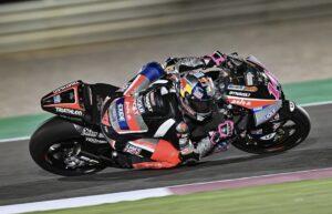 "Moto2 | Test Qatar, Arbolino: ""Giornata molto positiva"""