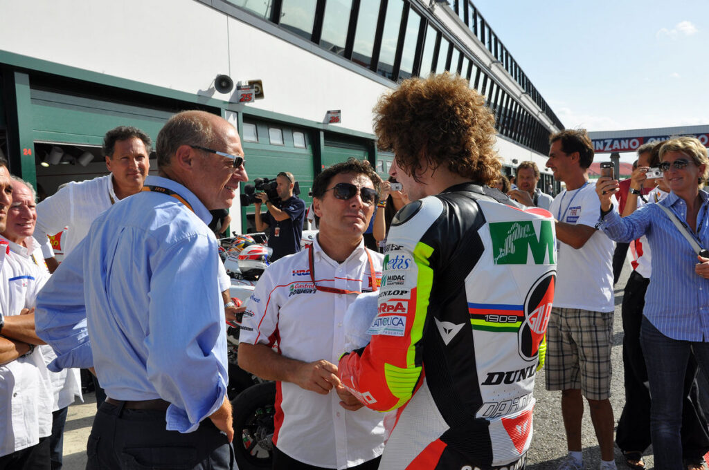 MotoGP   Fausto Gresini: il ricordo di Honda Motor Europe Italia
