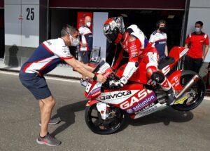Moto3 | Test Qatar: Guevara comanda la classifica della mattina