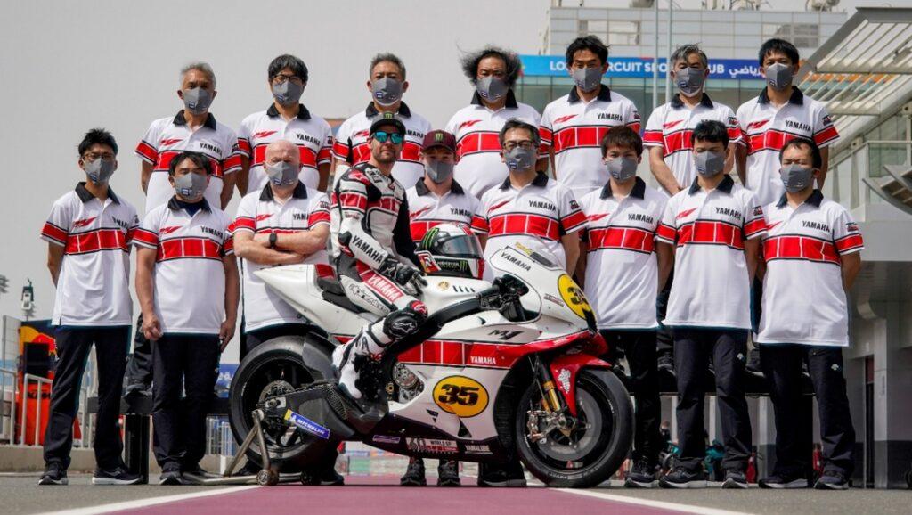 MotoGP | Livrea speciale per il 60esimo anniversario di Yamaha