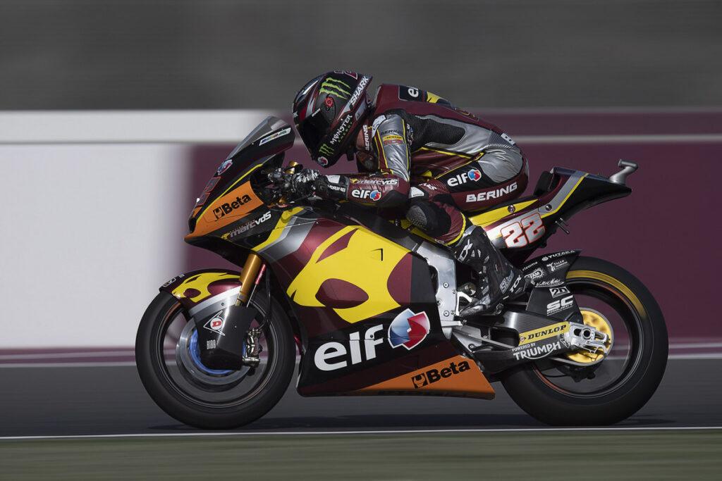 Moto2 | Gp Qatar FP2: Lowes al comando, Bezzecchi è secondo