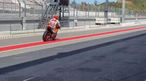 MotoGP | Marc Marquez in pista a Portimao con una RC213V-S [VIDEO]
