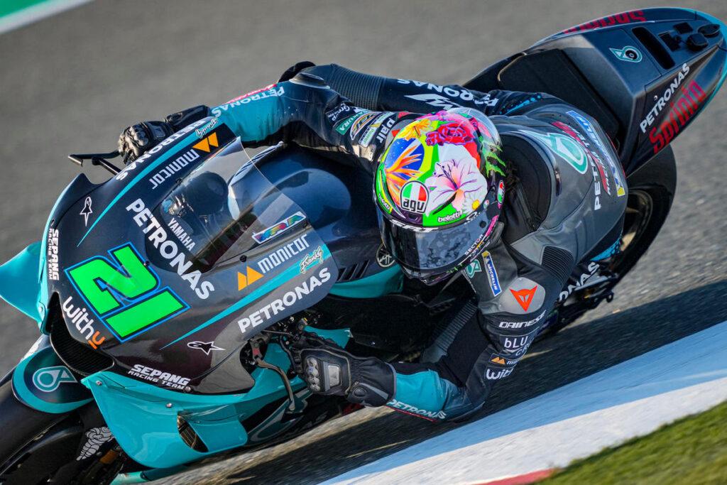 MotoGP   Gp Qatar FP1: Morbidelli al Top, Valentino Rossi è nono