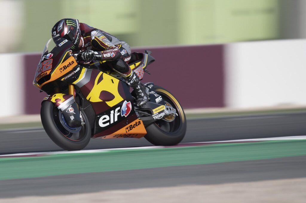 Moto2   Gp Qatar Qualifiche: Sam Lowes si aggiudica la pole, Bezzecchi primo degli italiani