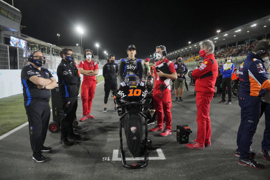 "MotoGP | GP Qatar 2: Luca Marini, ""So dove devo migliorare"""