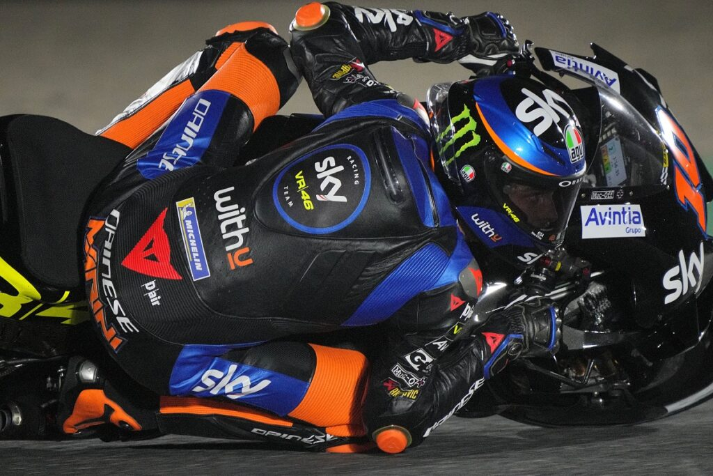 "MotoGP | GP Qatar Day 1: Luca Marini, ""Una bellissima giornata"""